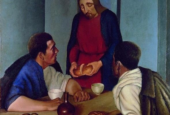 Gesù parla e cena con noi