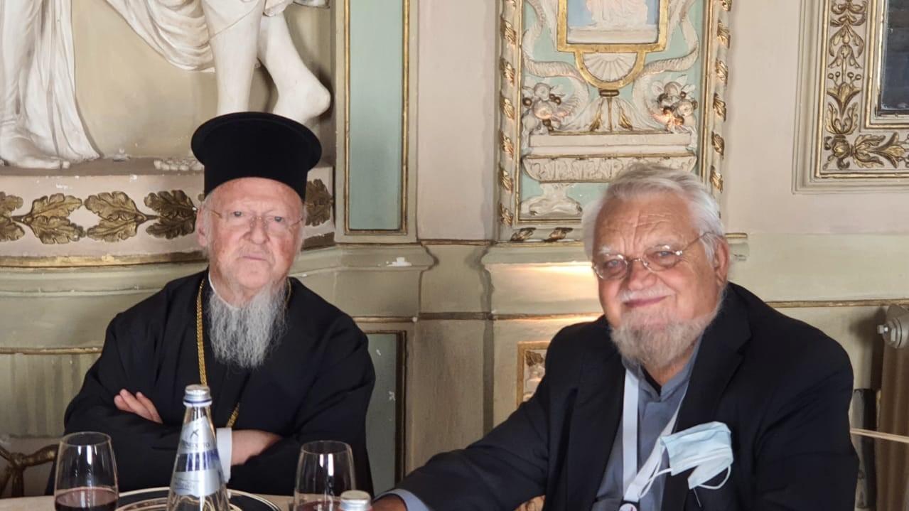 Fr. Enzo Bianchi incontra il Patriarca Ecumenico di Costantinopoli Bartholomeos